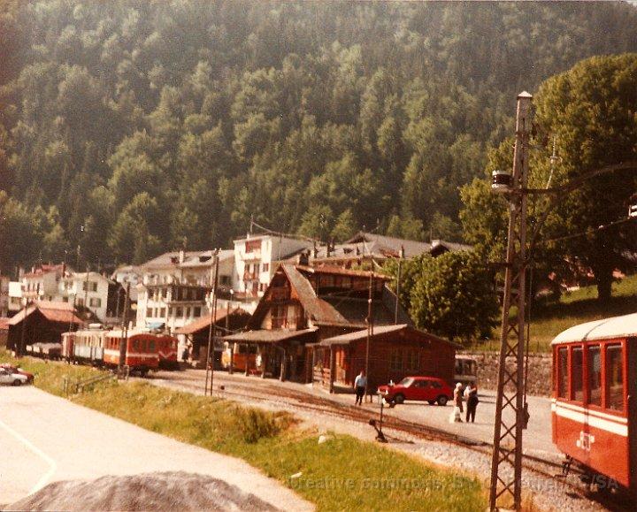 La gare du Sépey dans les années 80.
