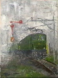 huile sur toile, 40x30